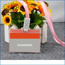 PVC / ABS business card holder soft pvc card holder