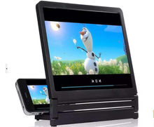 3D Video screen Amplifier with stand 8.2 inch