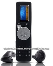 2GB Voice and Telephone Recorder with FM Transmitter and MP3 Player