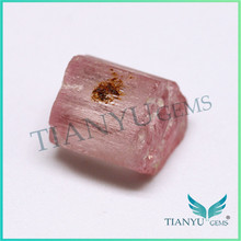 Light pink price of natural rough brazil tourmaline stone product