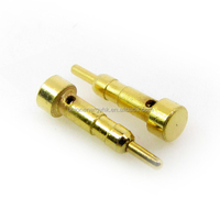 Spring loaded Pogo pin gold-plated probes