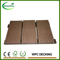 Wood Composite Parquet Outdoor Laminate Flooring