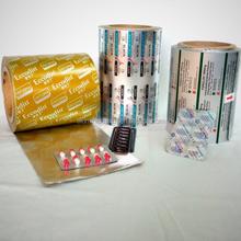 (8011H/0.12-0.036mm thickness )Printable Aluminum foil & ptp blister alu foil packs