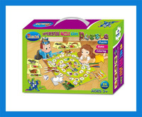 Lovely paper jigsaw puzzle educational baby pictures puzzle painting puzzle game