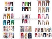 Baby 2014 busha animales de dibujos animados para niños pantalones leggings medias 7 grupos 180 pcs/lote 80 90 95 cm