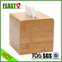 New style fashion wooden tissue box cover