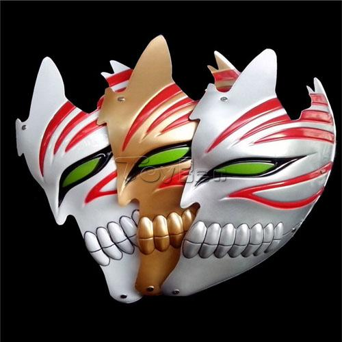 Hot Anime Bleach Cosplay Full Face Mask Kurosaki Ichigo cosplay mask