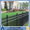 Anping Baochuan fence - Hot dip galvanized black coated 5' / 6' residential wrought iron fencing panel
