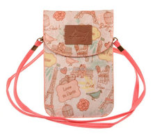 hot new products for cooler bag for phone cell phone neck hanging bag Phone Pouch