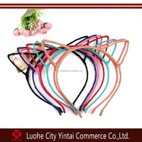 Colorful Cute Cat Ear Headband Hairband For Halloween Christmas