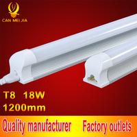 25pcs/lot Led Tube T8 1200mm Integrated Tubete Epistar Smd 5730 Home Lighting T8 Led Tube 4ft Light 220v 18w