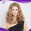 Fantasy wholesale 100 kanekalon curly synthetic wig for female