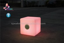 Hot selling LED waterproof bluetooth speaker for garden use