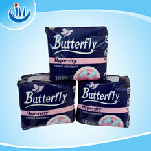day and night use super cotton butterfly sanitary napkin