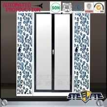 Bedroom designs mirrored sliding door wardrobe closet custom wardrobe closet