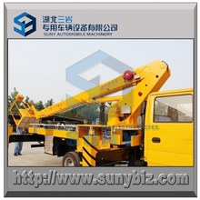 Right hand side 4x2 telescopic boom high working truck 12 meters high operation