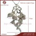 renfook direto da fábrica venda 925 sterling silver moda jóias colar de jóias de pérolas