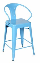 Multiple Finishes Home and Garden Metal Chair Multiple Finishes