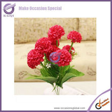 k2027-3 9-head white hydrangea cut flowers wholesale silk flower hydrangea cheap artificial hydrangea flower