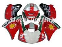 Motorcyle Racing Bike ABS Plastic Body Kits 996 748 998 Bodywork For Ducati 996/748/998 1996-2002 96-02 Body Kits Fairing Kits