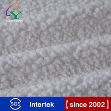 Hot sales free sample 100% polyester weft knitting solid lambs wool Fleece Fabric inquiry now