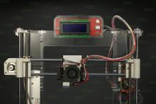 3D printer summer short sleeve sublimation polyester 3d t shi