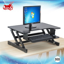 New design adjustable sit and stand compact computer desk