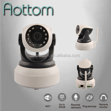 1280*720P CCTV wireless IP Cameras Mega Pixel HD H.264 IR Cut audio,SD Card slot