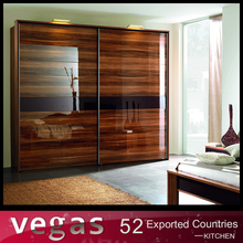 European standard modern aluminium wardrobe for bedroom