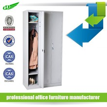 High quality gym metal 3 door locker, clothing wardrobe locker, steel office and school locker cabinet