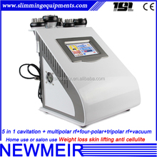 5in1 rf cavitation vacuum on promotion lipo cavitation machine
