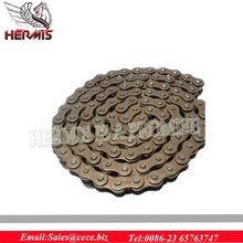 High quality alloy steel heat treatment Motorcycle chain with good price