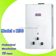 Hot selling Instant / Tankless Storage / Tankless and Wall Mounted Installation instant gas water heater,gas geyser
