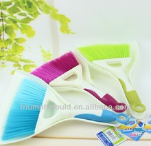 Manual type mini dustpan brushes two combinations car cleaning tools sofa bed cleaning products