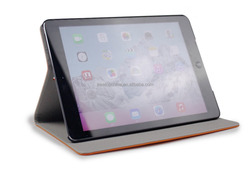 2016 Hot sale! Top layer cowhide leather case for iPad