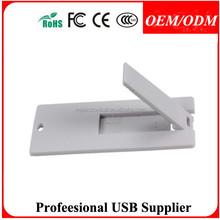 Free Sample, promotional portable cheap card usb flash drive 2.0