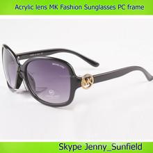 Color changing acrylic lens Fashion MK sunglasses pc frame