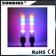 Factory direct sale decorative nice well high quality 5 LED bicycle light flashing