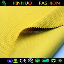 Fashion Style African polyester spandex fabric jacquard elastic
