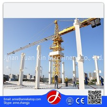 fixed building topless tower cranes