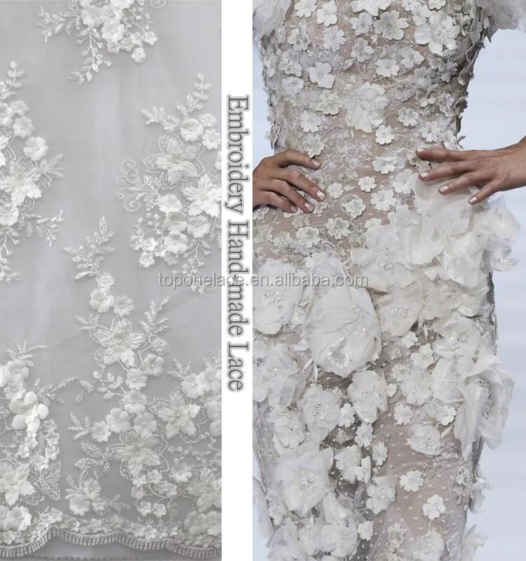 cheap french lace wedding dress