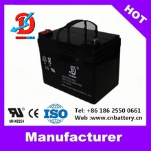 12v UPS battery 12v33ah deep cycle solar battery for ups manufacture in China