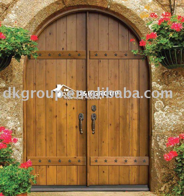 входные двери из дерева: