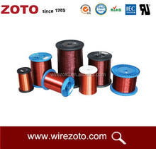 High quality Enameled copper clad aluminum wire/magnet wire(ECCA) with class 130/155/180