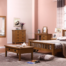 Classical sleeping used solid wood furniture for bedroom
