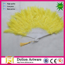 colourful turkey feather fan for decoration