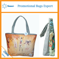 china suppliers canvas tote bag leather handles canvas bags