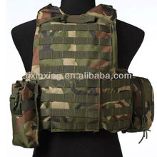 Military Plate Carrier sleeveless vest with zipper,Plate Carrier Molle Tactical combat Vest