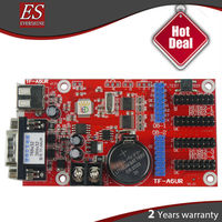 Hot! High Performance TF-A6UR/A5UR P10 led sending card message card With usb+rs232