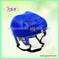 wholesales good quality low price China factory plastic hockey helmet